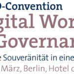 Digital World and Governance am 10. und 11. März in Berlin