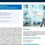 VOICE und TUM Campus Heilbronn: Stipendium für Seminarreihe Mastering Digital Transformation