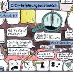 """CIO-Erfahrungsaustausch: Der """"Klopper"""" der Woche und warum man in der Medizin in Deutschland mit AI kein Geld verdienen kann"""